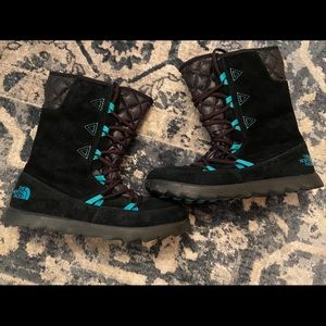 The North Face winter boots size 7